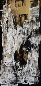 Calm down - 80 x 160 cm - Abstract schilderij