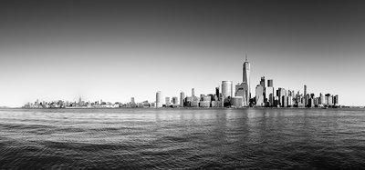 Panoramic views New York BW