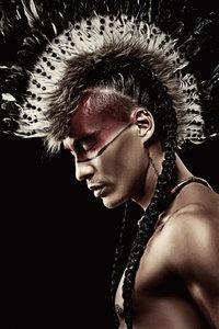 Native - Fotokunst man
