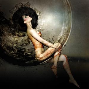 Balance - Fotokunst vrouw