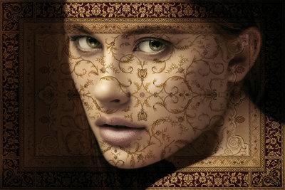 Pattern - Fotokunst vrouw