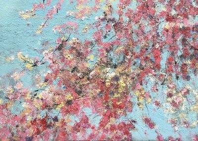 Spring day - 140 x 100 - Bloemen schilderij