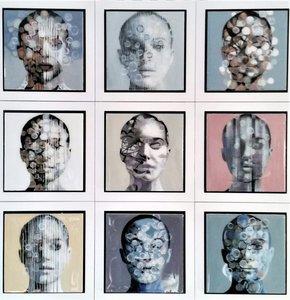Authenticity - 66 x 66 cm - Epoxy schilderij