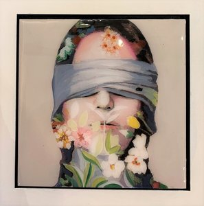Lust - 22 x 22 cm - Epoxy schilderij