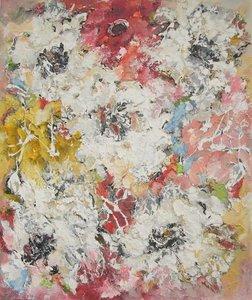 Espod 110 x 130 Bloemen schilderij