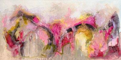 Softness - 160 x 80 cm - Abstract schilderij