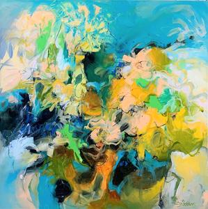 abstract schilderij kleurrijk