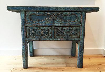 Chinees kastje blauw