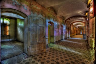 The Hallway - Fotokunst gebouwen