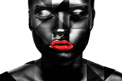 Black Woman - Fotokunst vrouw