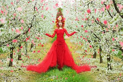Fairy - Fotokunst vrouw