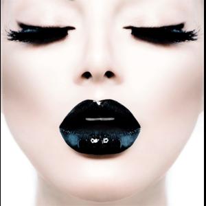 Black Lips - Fotokunst vrouw