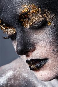Grime - Fotokunst vrouw