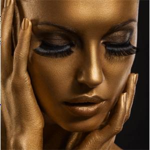 Golden - Fotokunst vrouw
