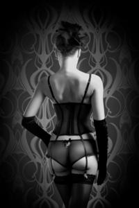 In flame - Fotokunst vrouw Nude Art