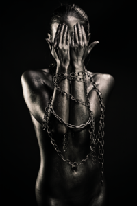 Captured - Fotokunst vrouw