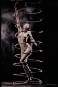 Spiral - Fotokunst vrouw