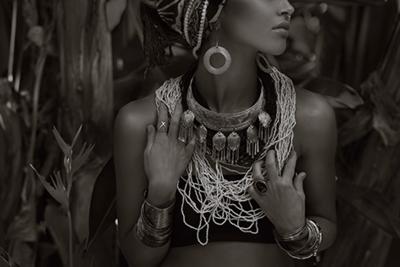 Bijous - Fotokunst vrouw