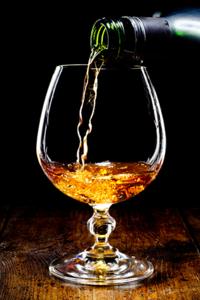Fotokunst cognac