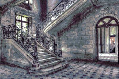 The Staircase - Fotokunst  gebouwen
