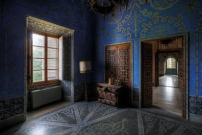 Blue Chamber - Fotokunst gebouwen