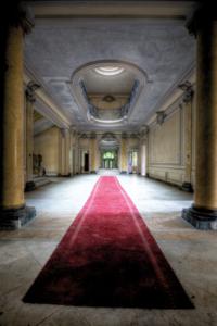 The red carpet - Fotokunst