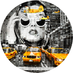 Marilyn in New York  | Fotokunst rond