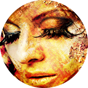 Eyelashes | Fotokunst rond