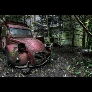 Fotokunst auto