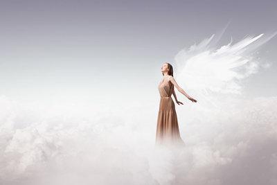 Beautiful Angel II - Fotokunst engel