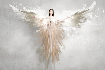 Beautiful Angel - Fotokunst engel