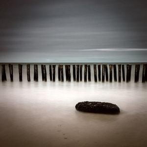 Wooden coastline
