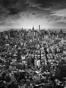 Manhattan WTC 103th floor BW