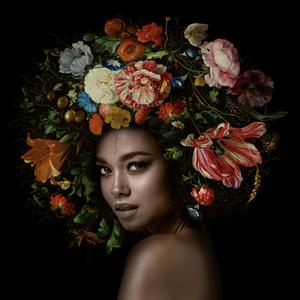 Flower Fantasy - Fotokunst vrouw