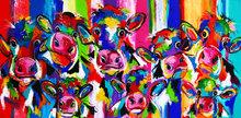 Nieuwsgierige-koeien-met-kalfjes-160-x-80-cm-koeien-schilderij