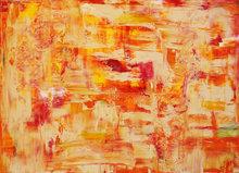 Sun-down-140-x-100-cm-Abstract-schilderij