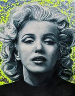 Marilyn-Monroe-110-x-140-cm-Schilderij