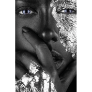 Silver-face-Fotokunst-vrouw