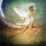 Fantasy-Fotokunst-vrouw
