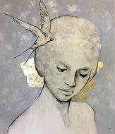 Free-I-110-x-130-cm-Schilderij-vrouw