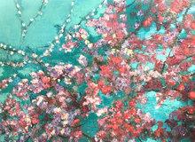 Blossom-140-x-100-cm-Bloemen-bloesem-schilderij