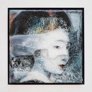 Kleurrijke-vrouw-II-22-x-22-cm-Epoxy-schilderij