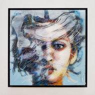 Kleurrijke-vrouw-IV-22-x-22-cm-Epoxy-schilderij