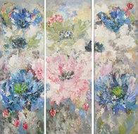 Springtime-150-x-150-cm-schilderij-drieluik-bloemen