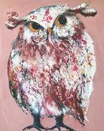 Huisgenoot-120-x-150-cm-Schilderij-uil