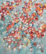 Whirling-Leaves-100-x-120-cm-Bloemen-schilderij
