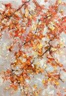 Dancing-leaves-100-x-140-Bloesem-schilderij