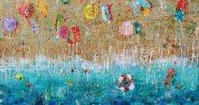 Schilderij Ingeborg Herckenrath strand zee
