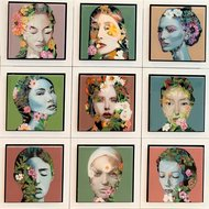 Bloemen vrouwen epoxy