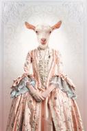 Fotokunst-Classy-Goat